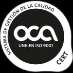 UNE-EN ISO 9001:2008 por LRQA, certificado SGI 2204537